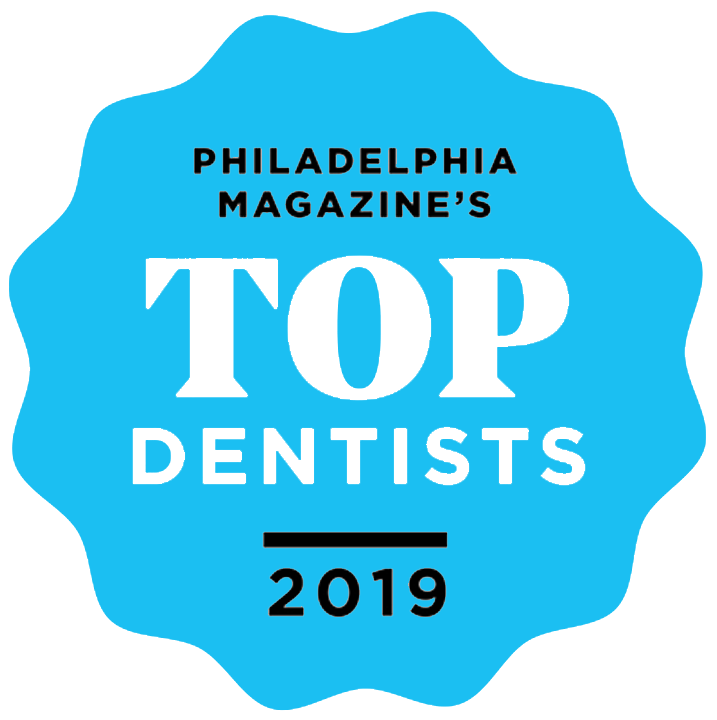 Philly Top Dentist 2019 Badge